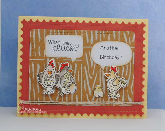 What the cluck? by Debbie features Cluck, Hardwood, Framework, Hardwood, and Frames & Flags by Newton's Nook Designs; #newtonsnook