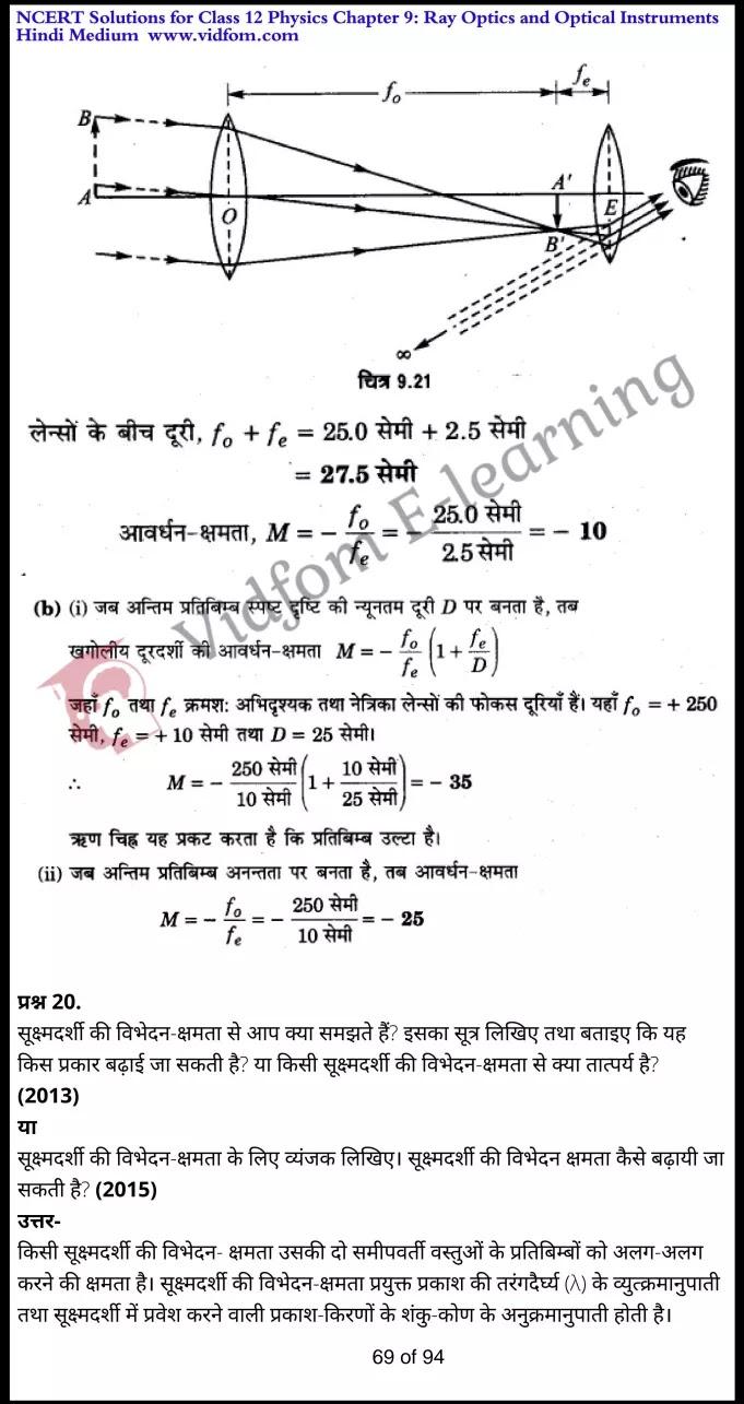 class 12 physics chapter 9 light hindi medium 69