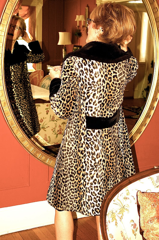 Leopard with Polka Dots
