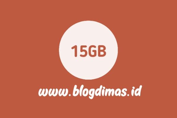 Paket Combo Telkomsel 15GB