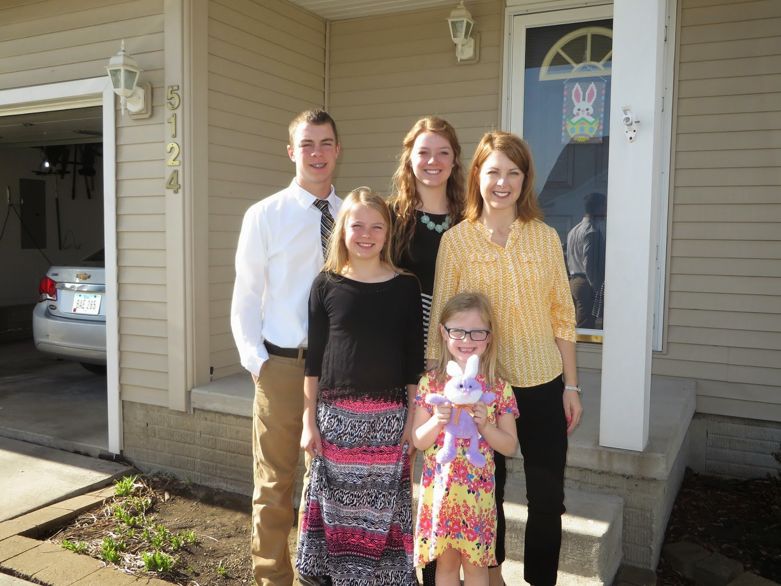 The Nord Family Easter Morning Pictures