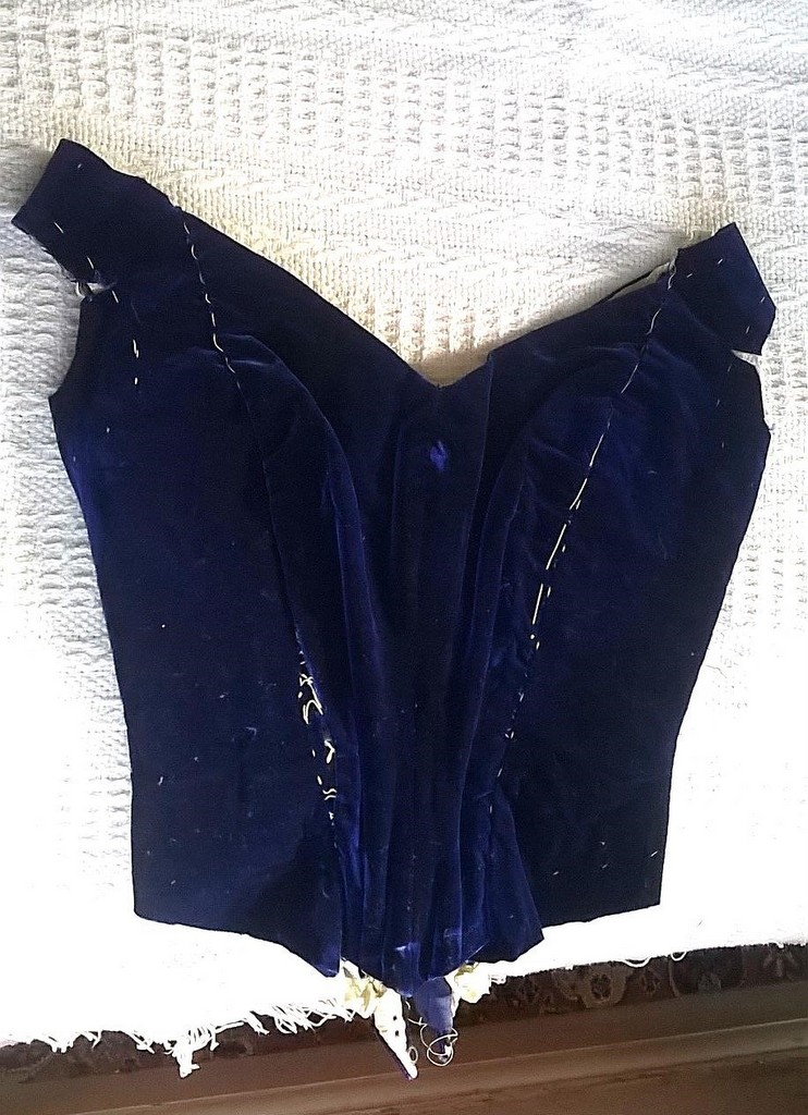 Victorian bodice front