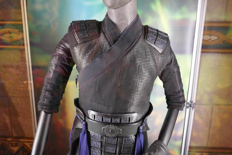 Shang-Chi Legend Ten Rings Wenwu costume detail