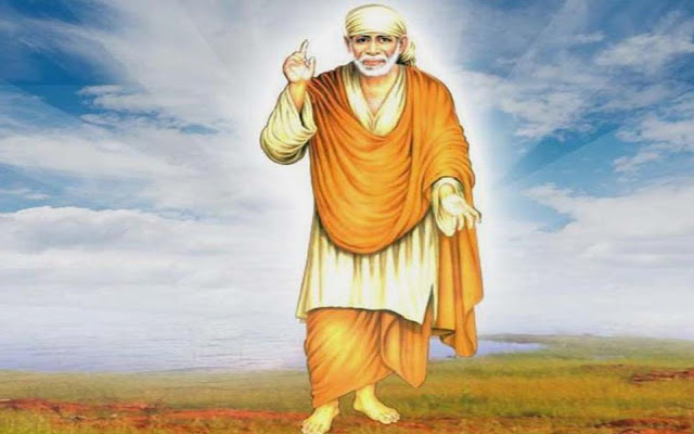 Lord Sai Baba HD Wallpaper For Desktop