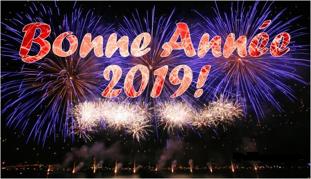 Cartes bonne année 2019