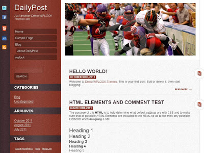 WP THEME#12: DAILYPOST