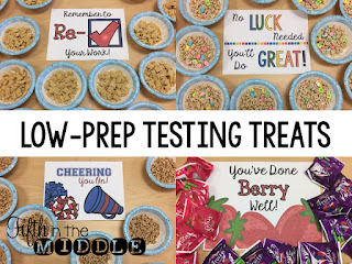 Four low-prep testing treats to give your students