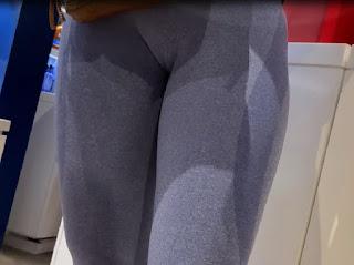 Video cameltoe sexi chica calzas