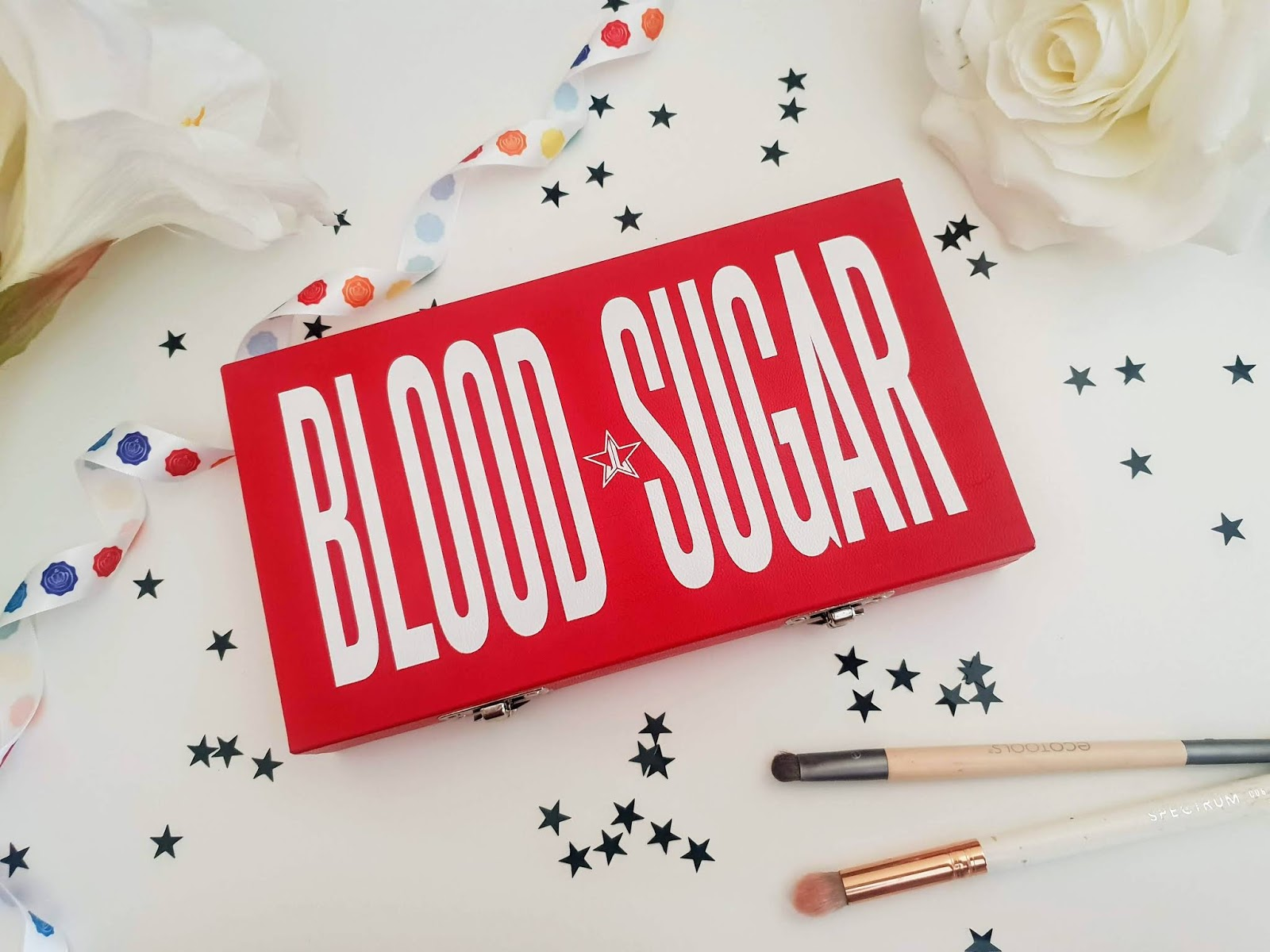 Jeffree Star Blood Sugar Eyeshadow Palette review