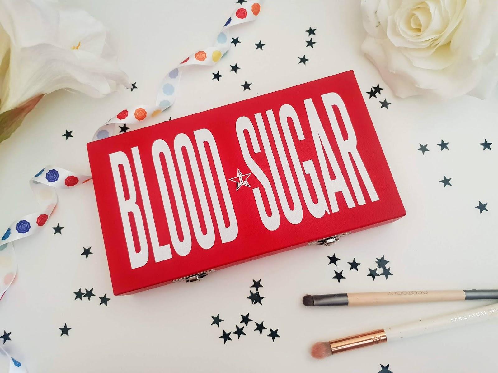 Jeffree Star Blood Sugar Eyeshadow Palette review