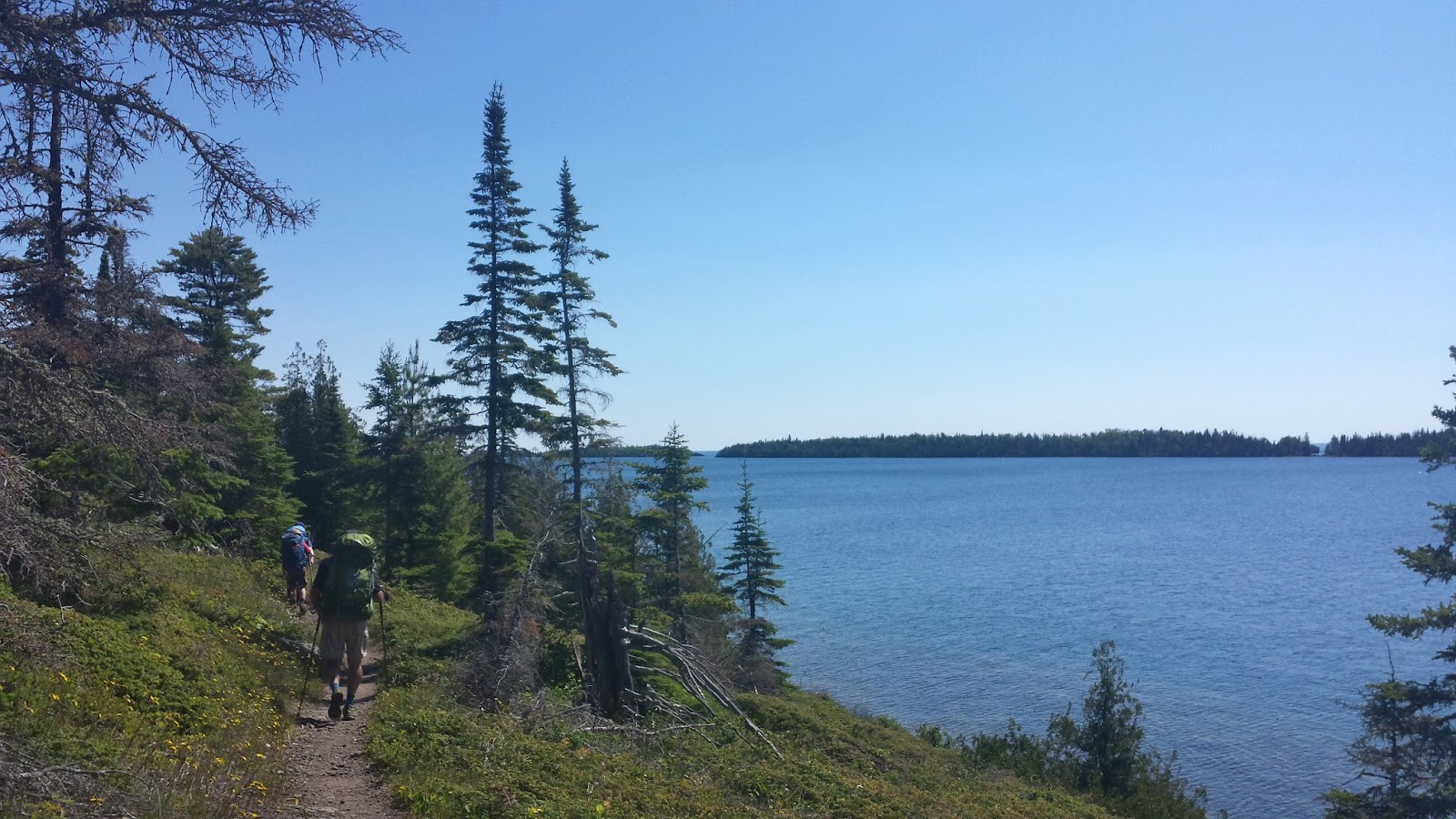 isle royale Isle royale is one of the most unusual national parks, not just in michigan or the midwest but in the country it is one of the smallest at only 210 square miles and has one of the lowest numbers of visitors, a mere 17,000.