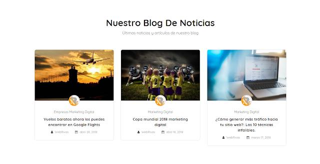 Blog de anuncios publicitarios