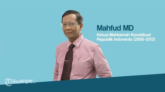 Mahfud MD Tanggapi Isu Jokowi Harus Mundur saat Mencalonkan Diri sebagai Presiden