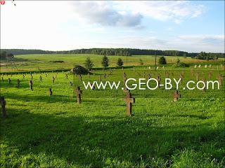 Кладбище немцев времен Первой Мировой войны в Борунах