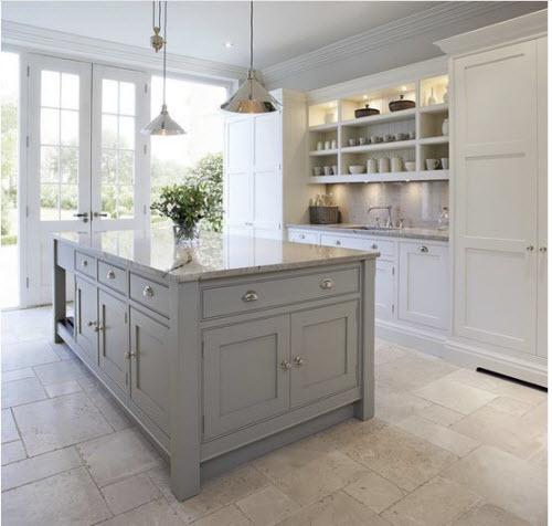 Tủ bếp Acrylic chữ I - giải pháp cho không gian bếp nhỏ