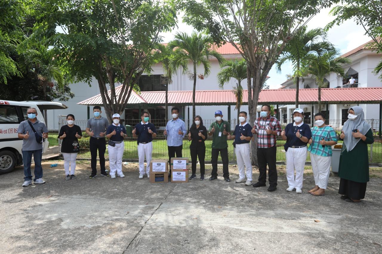 Yayasan Buddha Tzu Chi Batam Berikan Bantuan Ke BP Batam Untuk Pasien OTG Covid-19 Yang Dirawat di Asrama Haji dan Nakes