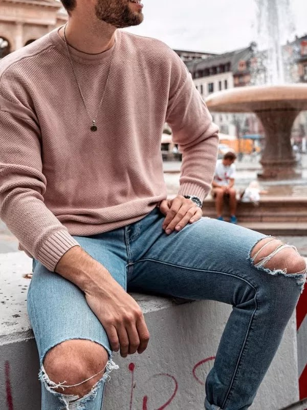 Sweatshirts with jeans