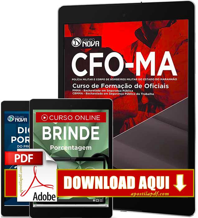 Apostila CFO MA 2016 PDF Download Curso de Formação de Oficiais