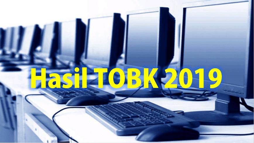 Hasil Try Out Berbasis Komputer-TOBK 2019