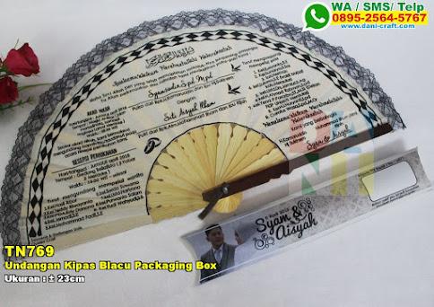 Undangan Kipas Blacu Packaging Box