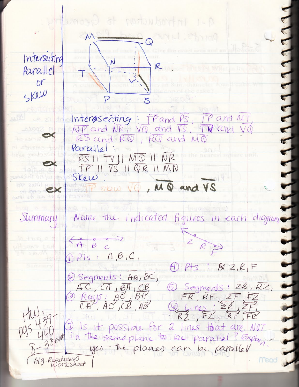 Ms Jean S Classroom Blog 9 1 Introduction To Geometry
