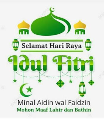 Kata-kata / Ucapan lebaran Hari Raya Idul Fitri cocok dijadikan status wa, fb, ig dll
