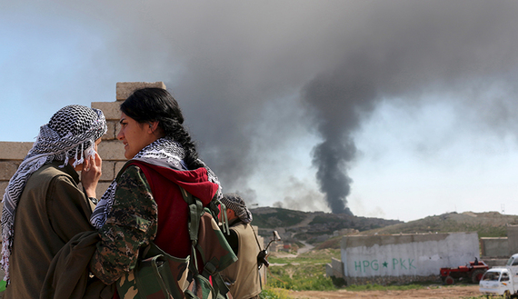 Kurdish infighting complicates Sinjar offensive