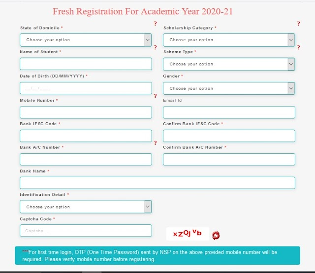 National Scholarship Portal 2020-21, Eligibility, Last Date, How to Apply Full Process