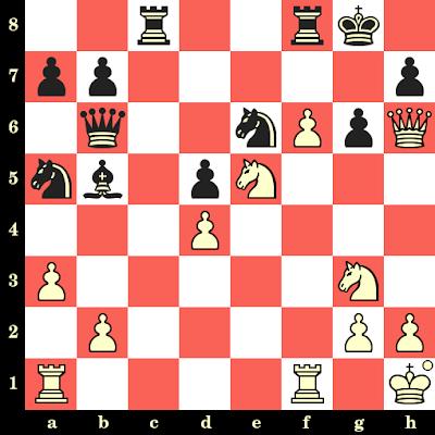 Les Blancs jouent et matent en 4 coups - Petra Papp vs Alexandra Prado, Tromsoe, 2014