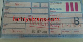 Harga tiket kirim mobil Surabaya Makassar dengan kapal laut