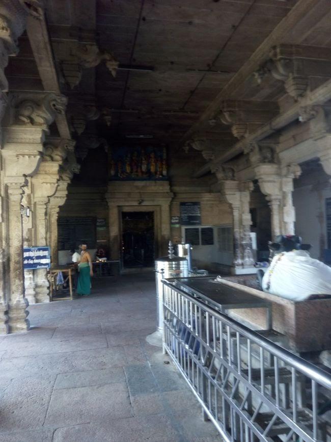 The Hall Leading To Main Shrine