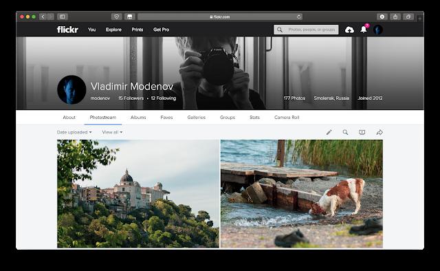 Flickr Modenov