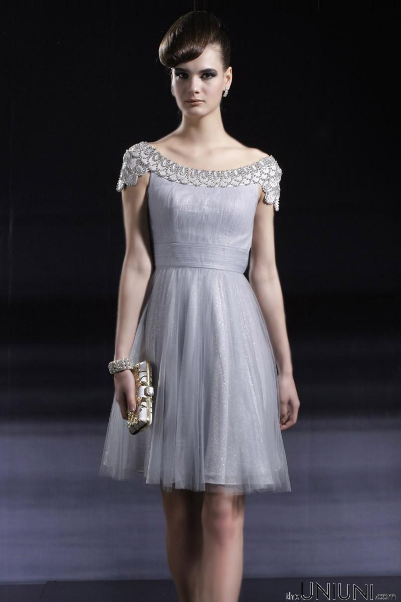 World Style: Short Silver Dress Fashion