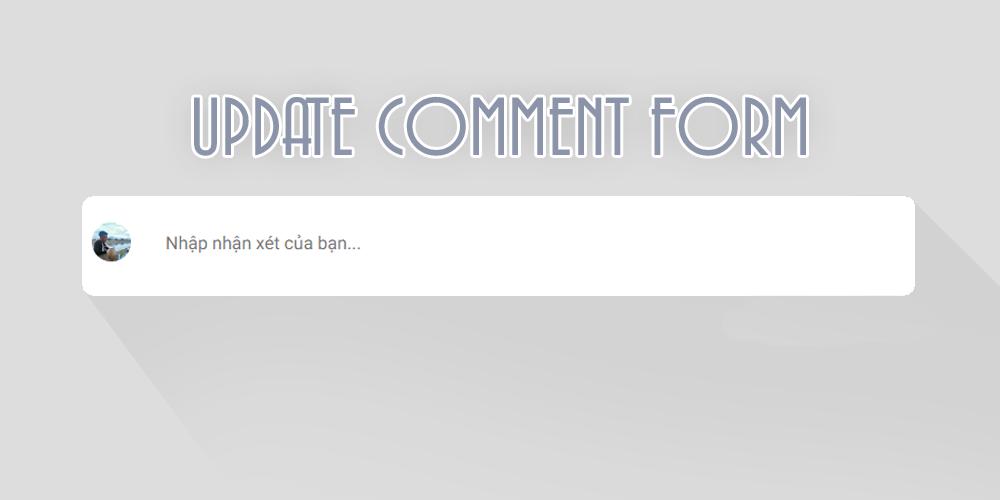 tạo khung comment blogspot chuyên nghiệp