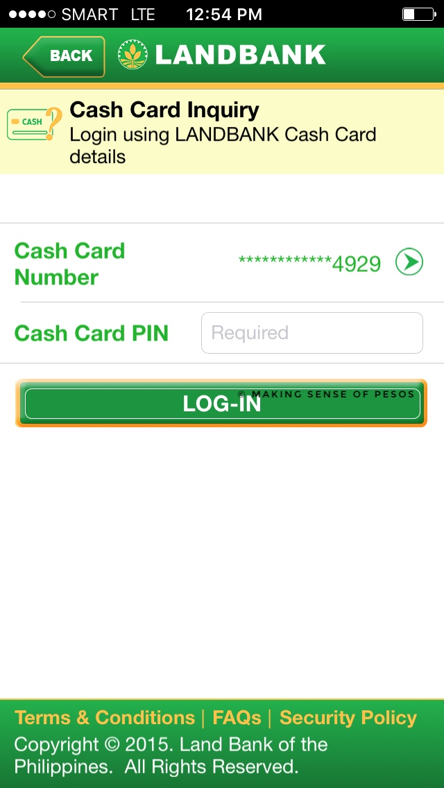 landbank cash card for pag-ibig form