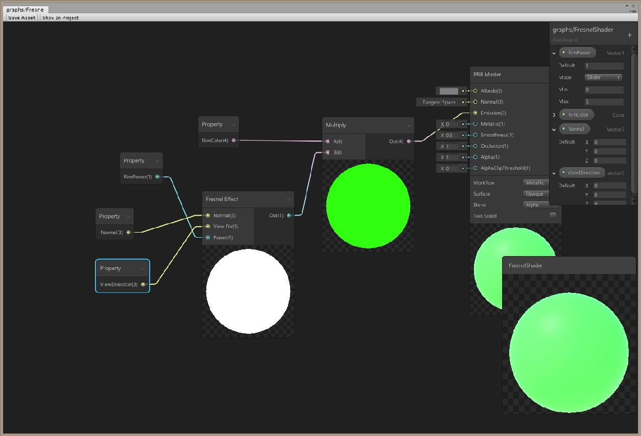 Unity how to get shader graph