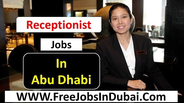 Receptionist  Jobs In Abu Dhabi