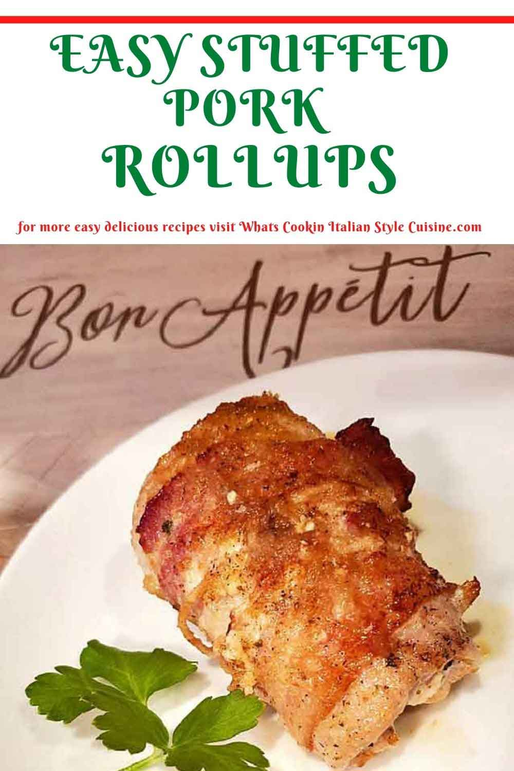 these are stuffed pork tenderloin and how to make them recipe in a pin for later