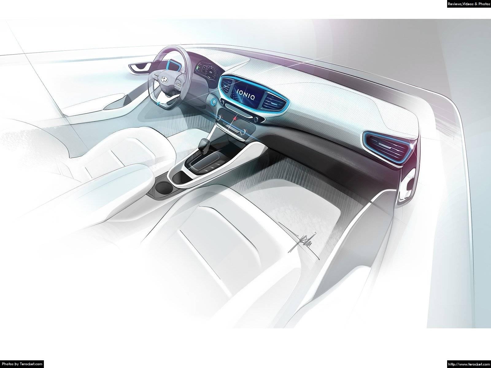 Hình ảnh xe ô tô Hyundai Ioniq 2017 & nội ngoại thất