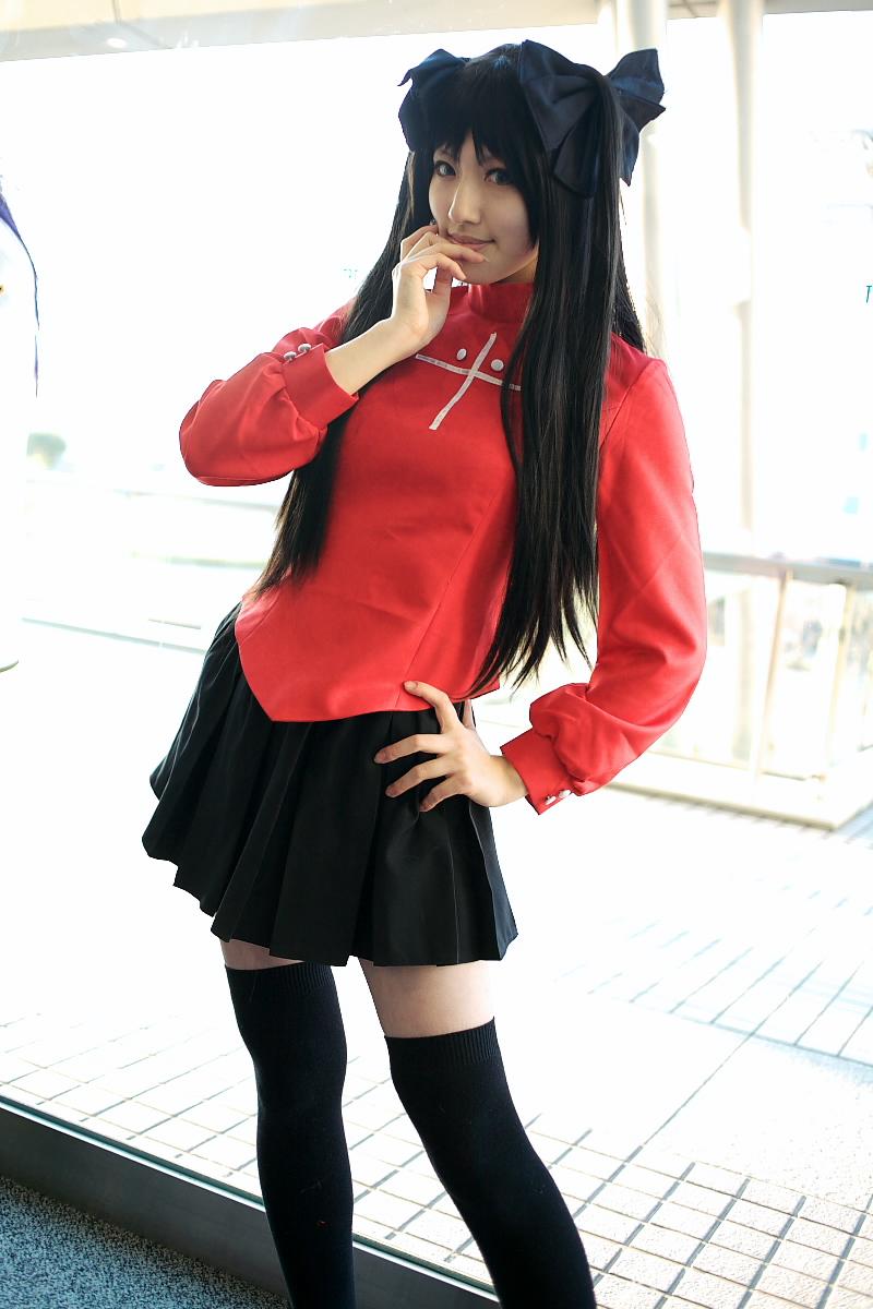 rin Fate cosplay night stay