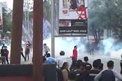 Mahasiswa Kendari Aksi Demo Tolak Kedatangan Jokowi