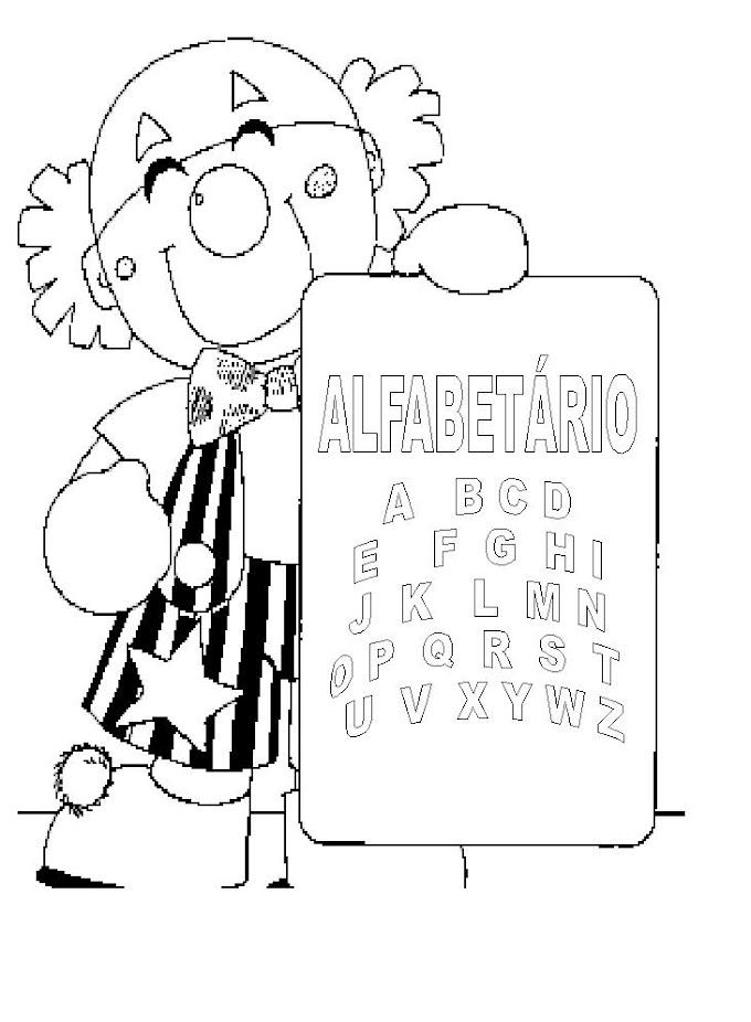 ATIVIDADES COM ALFABETO PARA ALFABETIZAÇÃO.