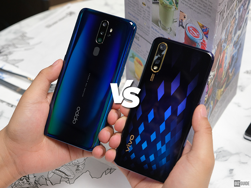 OPPO A9 2020 vs  Vivo S1 Specs Comparison