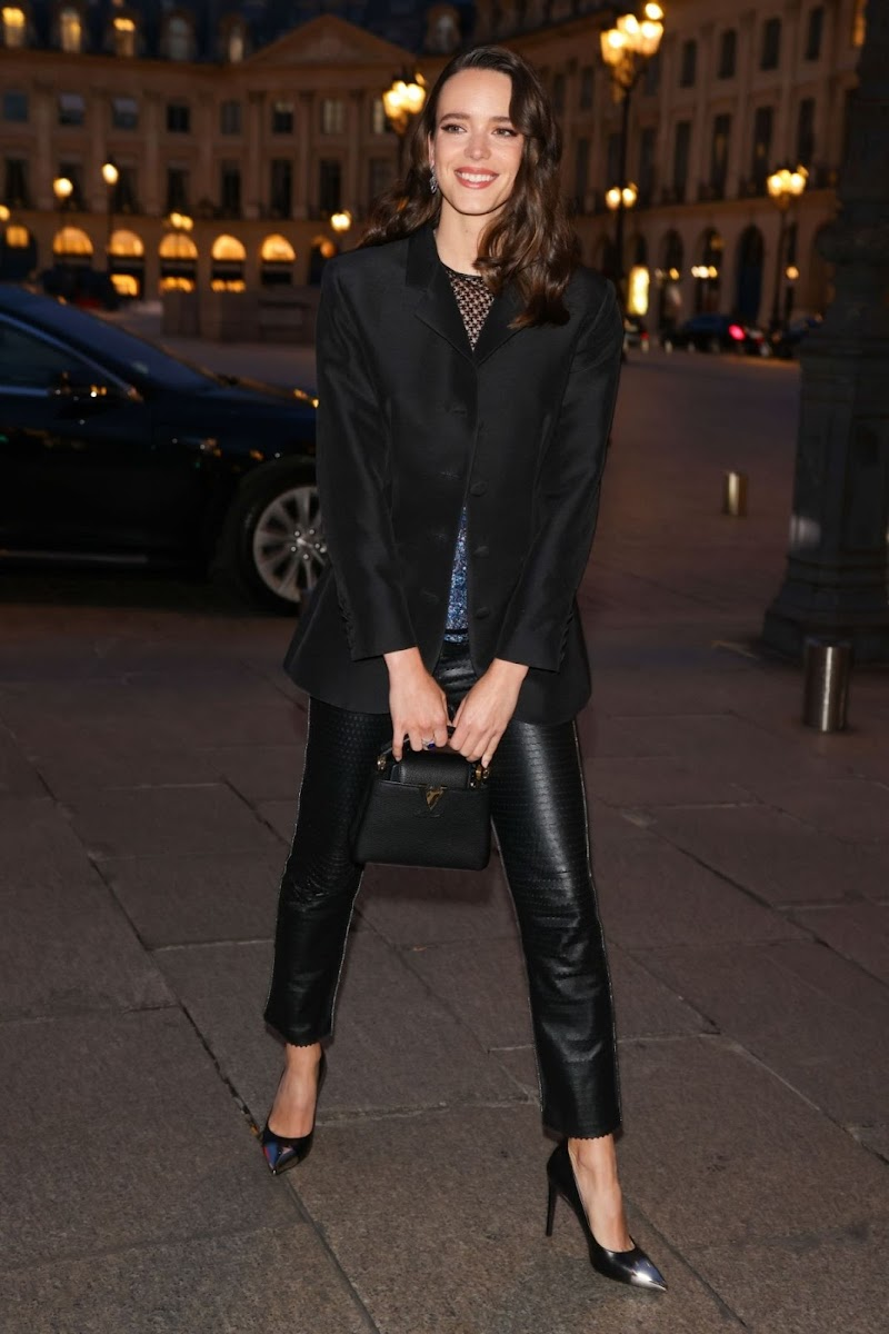 Stacy Martin Spotted at Louis Vuitton Dinner Party in Paris 28 Sep -2020