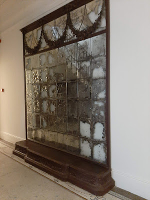 espelho de parede trabahado
