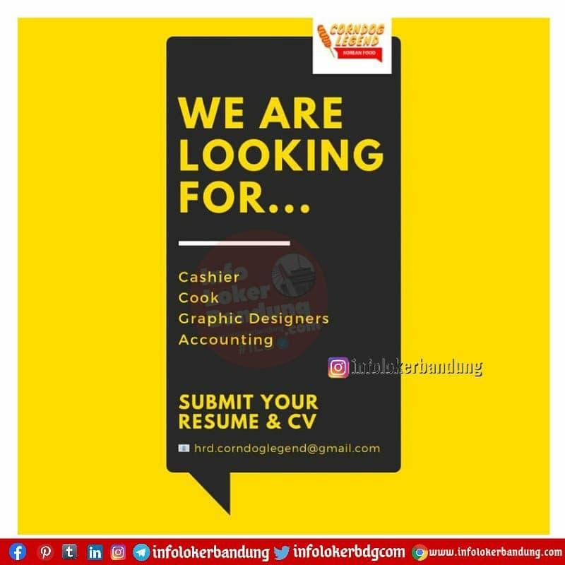 Lowongan Kerja Corndog Legend Bandung Maret 2021