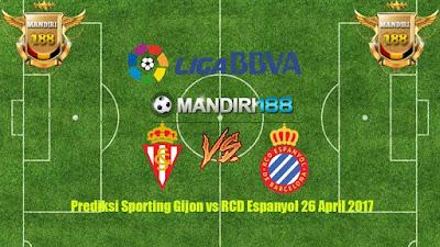 AGEN BOLA - Prediksi Sporting Gijon vs RCD Espanyol 26 April 2017