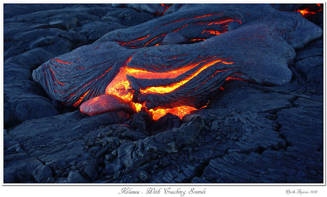 Kilauea: With Cracking Sounds