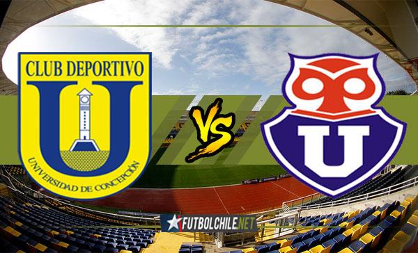 Universidad de Concepción vs Universidad de Chile - 17:30 h - Campeonato Transición - 03/12/17