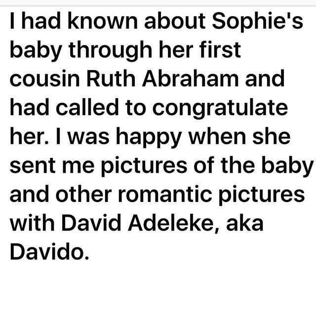 David and Sophia Momodu baby mama drama